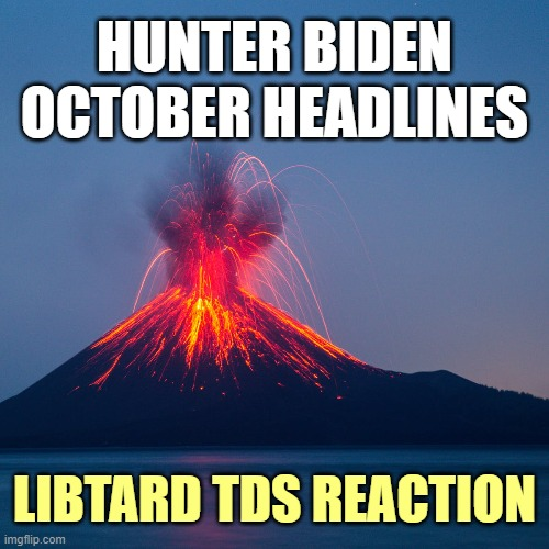 Crackhead Hunter's laptop dooms the entire Biden crime family. |  HUNTER BIDEN OCTOBER HEADLINES; LIBTARD TDS REACTION | image tagged in election 2020,trump,biden | made w/ Imgflip meme maker