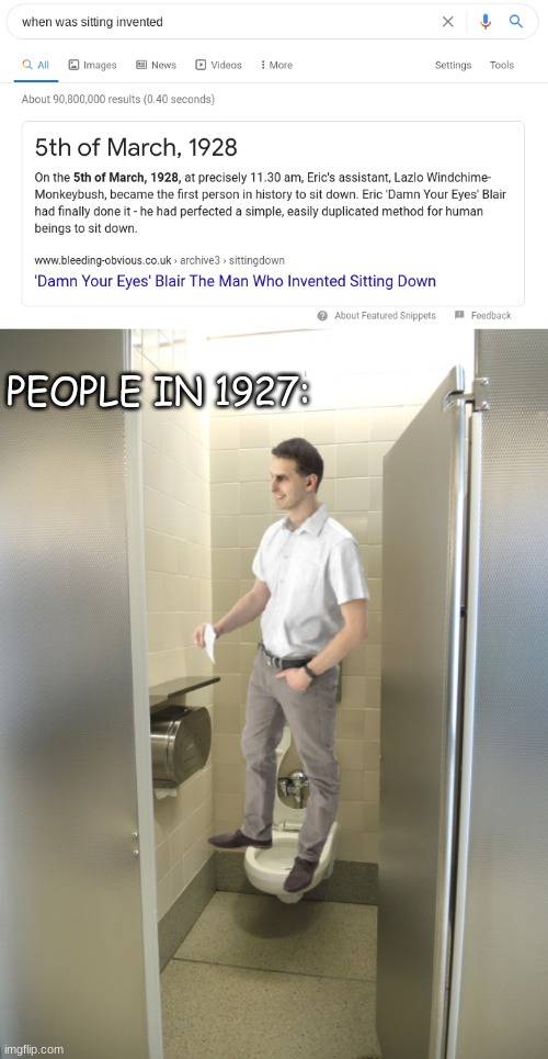 bum |  PEOPLE IN 1927: | image tagged in anime,sucks | made w/ Imgflip meme maker