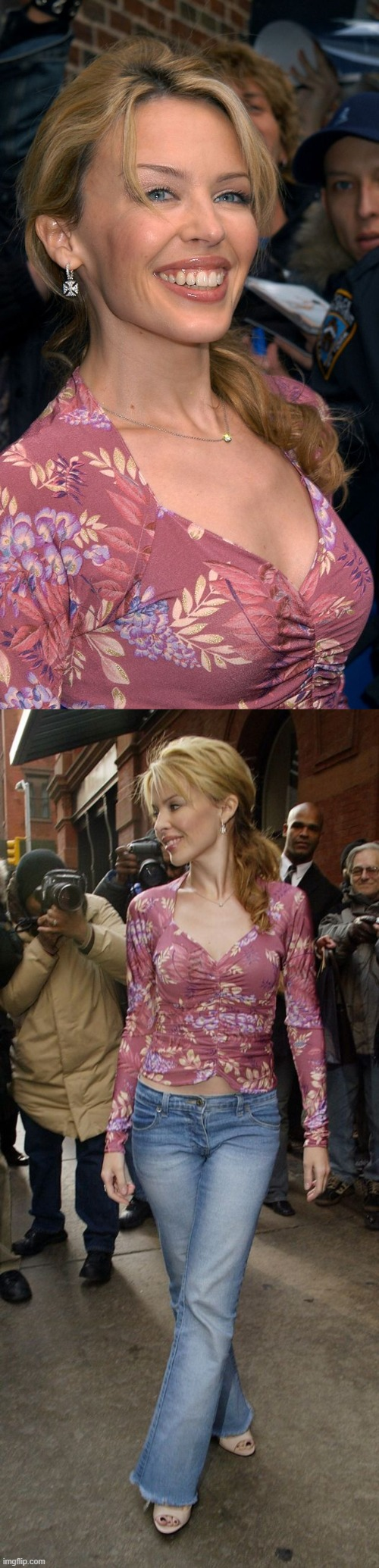 "After appearing at ""Late Night with David Letterman"", NY, 2004. 