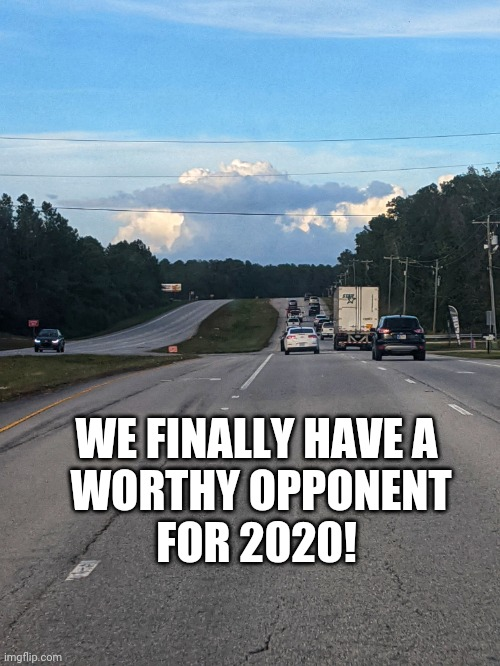 Helpusyoda |  WE FINALLY HAVE A  WORTHY OPPONENT  FOR 2020! | image tagged in 2020,yoda | made w/ Imgflip meme maker