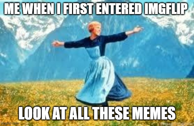 Look At All These Meme | ME WHEN I FIRST ENTERED IMGFLIP LOOK AT ALL THESE MEMES | image tagged in memes,look at all these | made w/ Imgflip meme maker