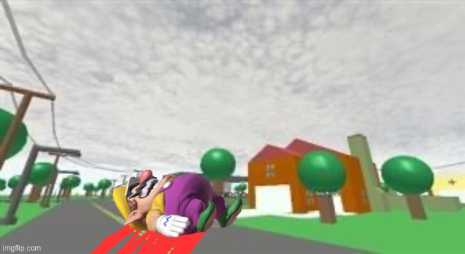 Wario dies from skydiving with no parachute.mp3 | image tagged in wario dies,wario,skydiving,memes | made w/ Imgflip meme maker
