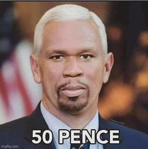 image tagged in 50 cent,mike pence | made w/ Imgflip meme maker
