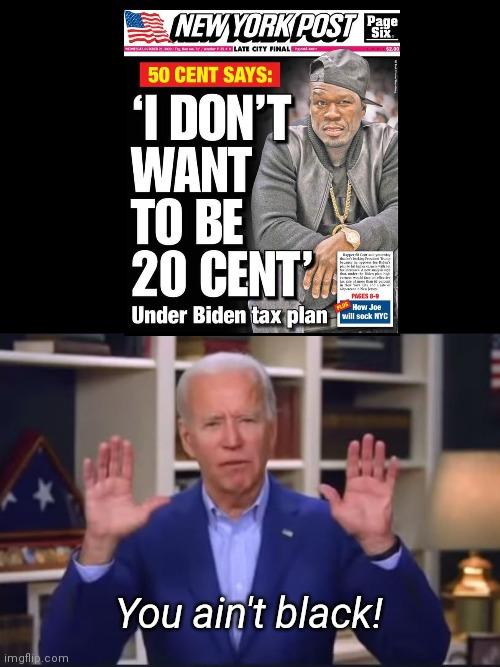 Joe Biden responds to 50 Cent - Imgflip