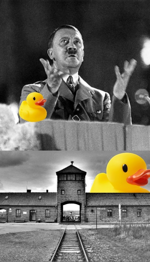 Cheers to OP for this hilarious image | image tagged in rubber duck ww2 | made w/ Imgflip meme maker