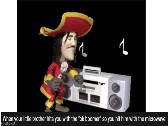 HAHAHAHAHAHA | image tagged in pirate,microwave,dancing,dancing pirate | made w/ Imgflip meme maker