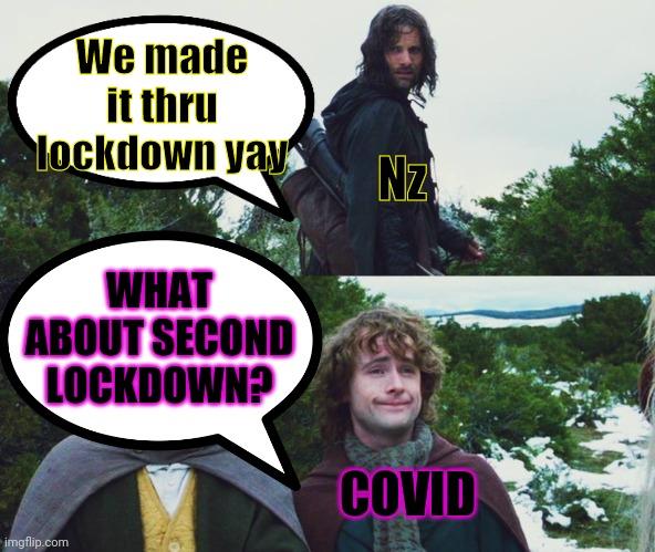 Second lockdown - Imgflip