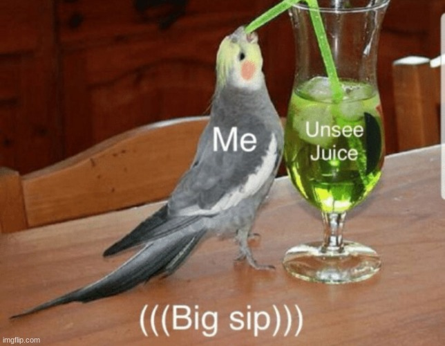 Unsee juice | image tagged in unsee juice | made w/ Imgflip meme maker