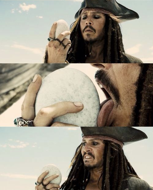 Jack Sparrow Licks Rock Blank Template - Imgflip