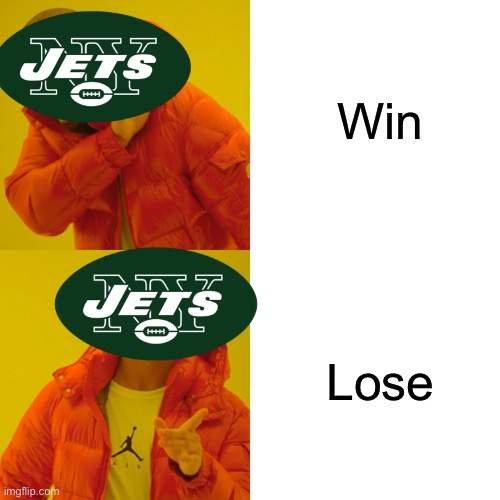 Win; Lose | image tagged in jets,losers | made w/ Imgflip meme maker