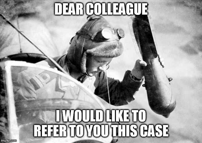 """Referrals"" 