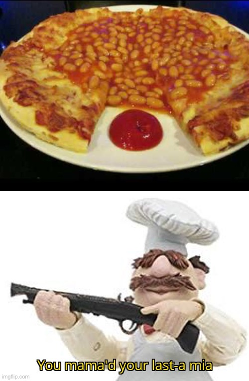 Disgusting.... | image tagged in you mama'd your last-a mia,funny,disgusting,gross,pizza,memes | made w/ Imgflip meme maker