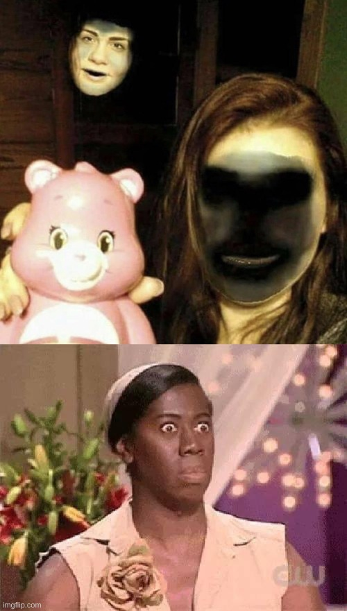 Oh hell no indeed | image tagged in oh hell no,cursed,face swap,memes,funny | made w/ Imgflip meme maker