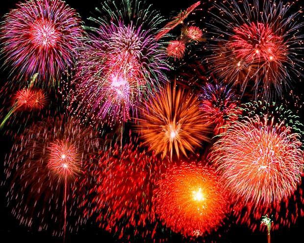 High Quality fireworks Blank Meme Template
