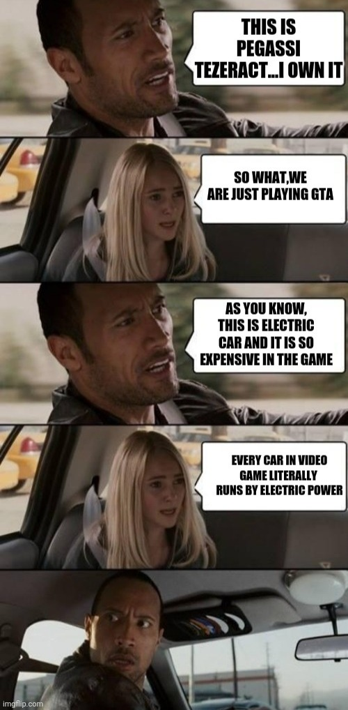 Electric cars are just car in video games | image tagged in gta,change my mind,cars,fast and furious,fun,gaming | made w/ Imgflip meme maker
