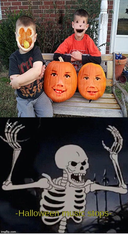 Cursed face swap | image tagged in halloween music stops,face swap,memes,meme,happy halloween,halloween | made w/ Imgflip meme maker