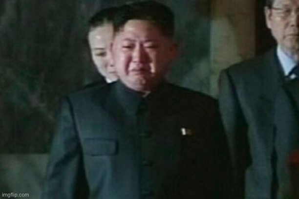 image tagged in memes,kim jong un sad | made w/ Imgflip meme maker