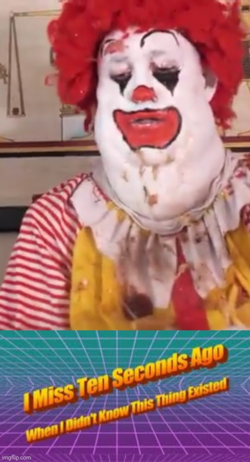 Cursed ronald | image tagged in memes,funny,mcdonalds,ronald mcdonald,cursed image,fast food | made w/ Imgflip meme maker