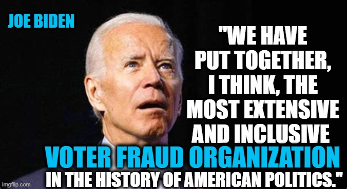 Voter Fraud Organization Meme : Maybe Not, But Leaves One To Question.