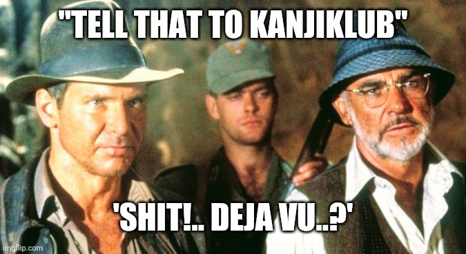 "Indianahan & Da meet Nazi KANJIKLUB in Déjà vu |  ""TELL THAT TO KANJIKLUB""; 'SHIT!.. DEJA VU..?' 