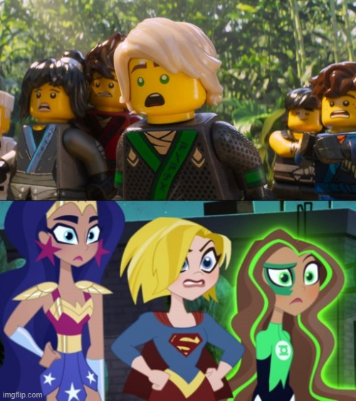 image tagged in ninjago shocked | made w/ Imgflip meme maker