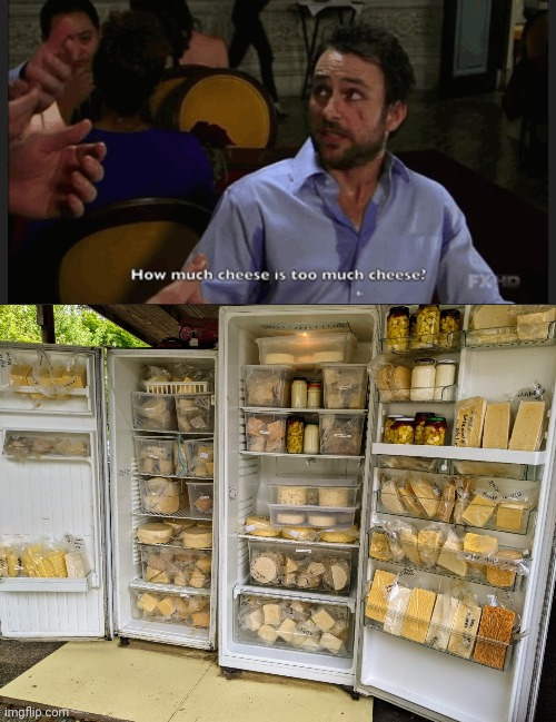 image tagged in it's always sunny in philidelphia,cheese | made w/ Imgflip meme maker