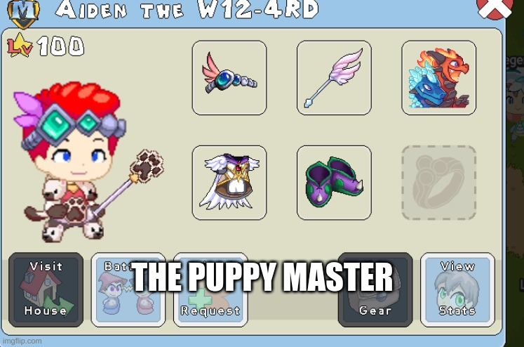 THE PUPPY MASTER | made w/ Imgflip meme maker