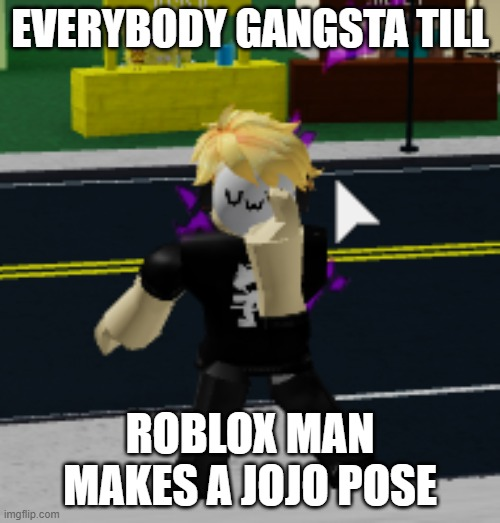 Before Jojo After Jojo Roblox Anime Meme On Meme 9 Tzolohn8cigm