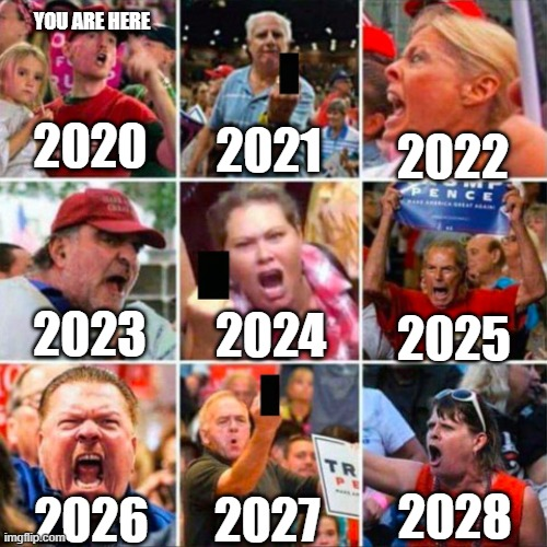 Meme Calendar 2022.You Are Here Calendar For Magats Imgflip