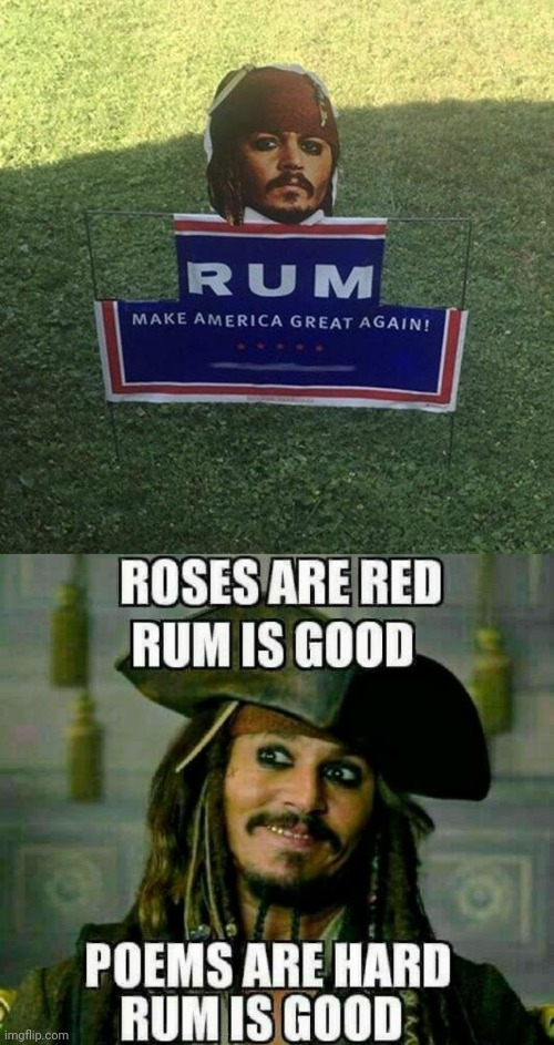 Rum solves everything | image tagged in jack sparrow,make america great again | made w/ Imgflip meme maker