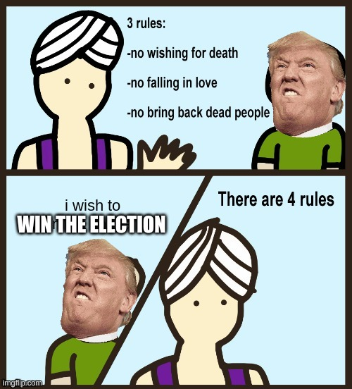 all of us 3 days ago be like |  WIN THE ELECTION | image tagged in funny | made w/ Imgflip meme maker
