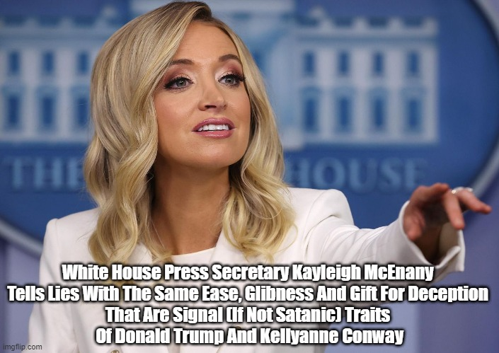 """Kayleigh McEnany's Relentless Torrent Of Lies"" 