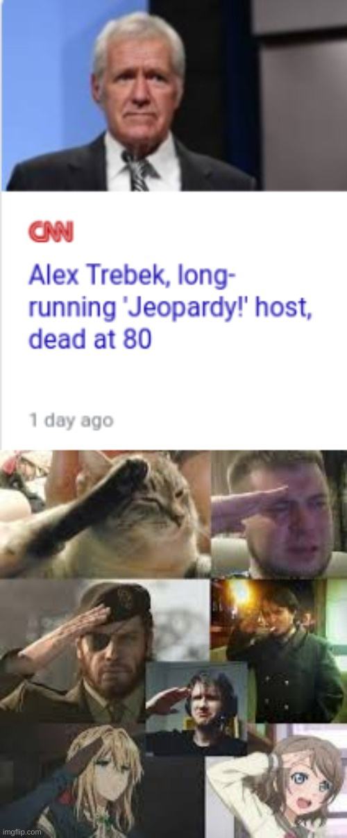 We will forever remember you, Alex Trebek. May you rest in peace. | image tagged in jeopardy,alex trebek,deceased,remember this guy | made w/ Imgflip meme maker