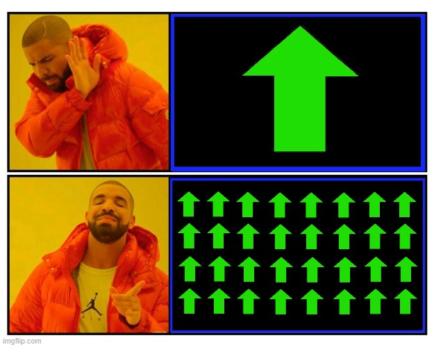 New Use for the Drake Meme Template | image tagged in vince vance,memes,drake,drake hotline approves,imgflip,upvotes | made w/ Imgflip meme maker