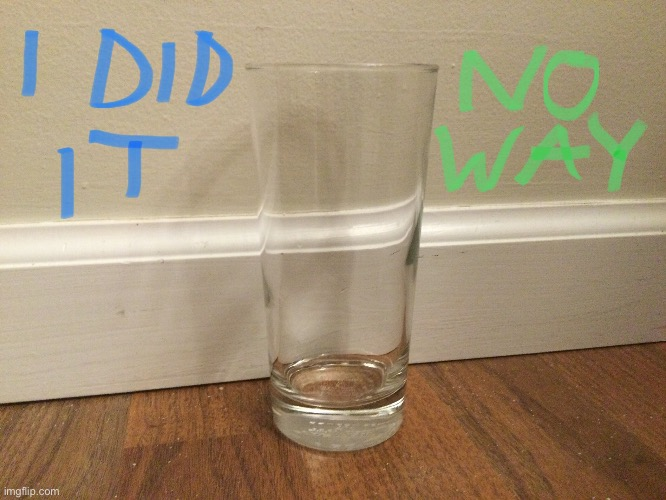 Thank you for all the ups on the other glass of water picture! | image tagged in water,memes,drink,upvotes,glass | made w/ Imgflip meme maker