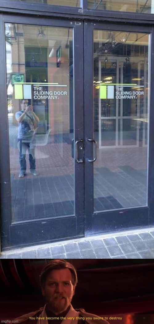 "The Sliding Door Company doesn""t use sliding doors. 