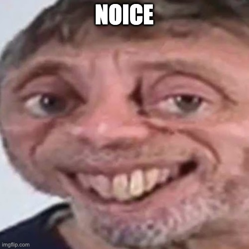 Noice | NOICE | image tagged in noice | made w/ Imgflip meme maker