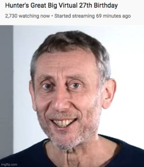 nice | image tagged in nice michael rosen,hunter,livestrem,memes,funny | made w/ Imgflip meme maker