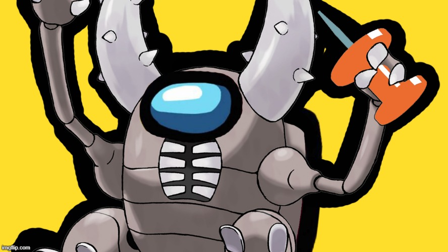 PINsir pretty sus | image tagged in pokemon | made w/ Imgflip meme maker