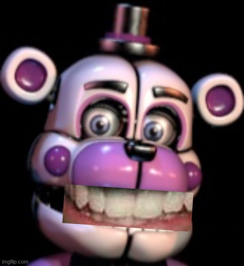 Funtime Freddy happy | image tagged in funtime freddy happy | made w/ Imgflip meme maker