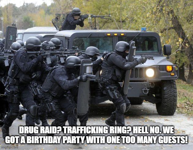 swat team - Imgflip