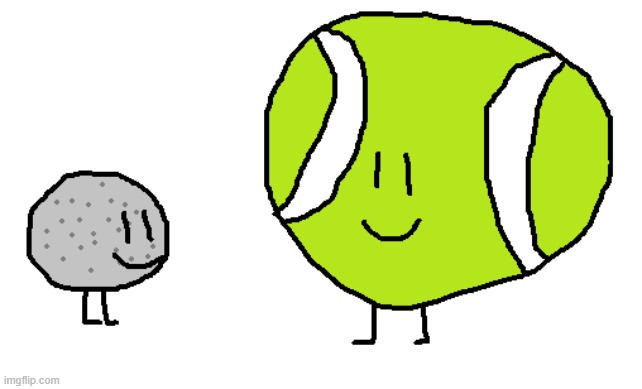 TB and GB | image tagged in bfdi,bfb,artwork,fanart,cute | made w/ Imgflip meme maker
