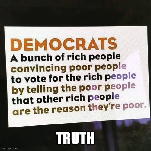 Truth |  TRUTH | image tagged in democrat,biden,fefe,fun,meme | made w/ Imgflip meme maker