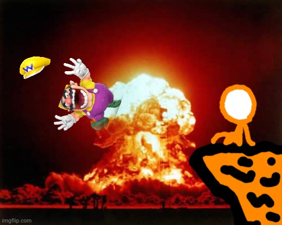 Wario gets killed by =-\ '-{#\! {!\# ^\=<^!.mp4 | image tagged in memes,nuclear explosion | made w/ Imgflip meme maker