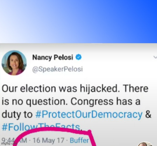 Pelosi-Mock | image tagged in pelosi-mock | made w/ Imgflip meme maker