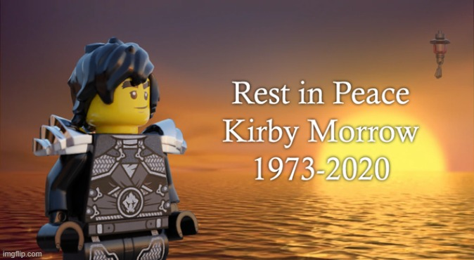 May he rest in peace | image tagged in ninjago,sad,rest in peace | made w/ Imgflip meme maker