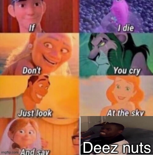 DEEZ NUTS |  Deez nuts | image tagged in memes,if i die,deez nuts,stop reading the tags | made w/ Imgflip meme maker