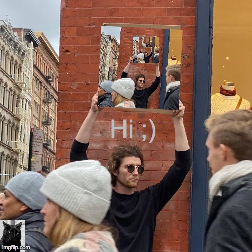 Guy Holding Cardboard Sign |  Hi ;) | image tagged in thanksgiving,family,pie,hi,funny,2020 | made w/ Imgflip meme maker