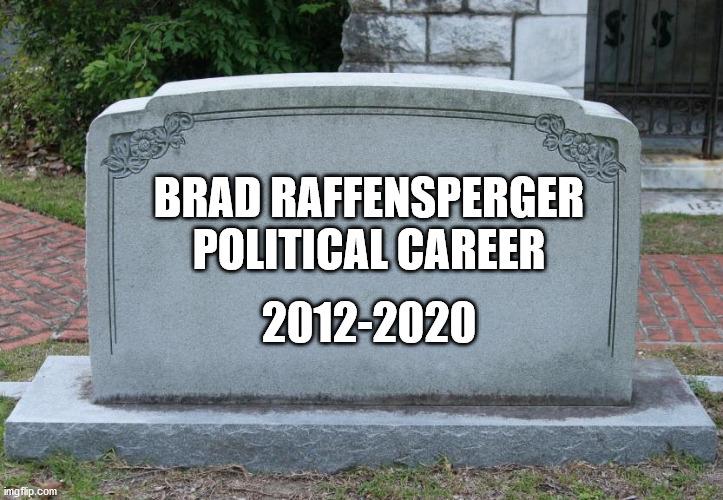 Raffensperger political career - Imgflip