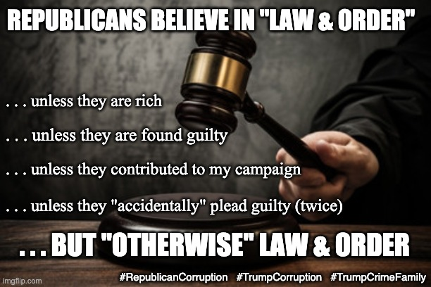 "Not for us, just to keep ""you"" down . . . 